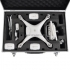 Black Aluminum Carrying Case for DJI Phantom 4 PRO Plus + Accessories