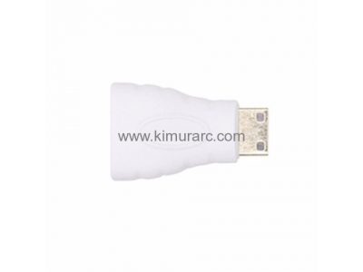 HDMI (Type A) Female to HDMI (Type C) Male Adaptor for DJI Goggles